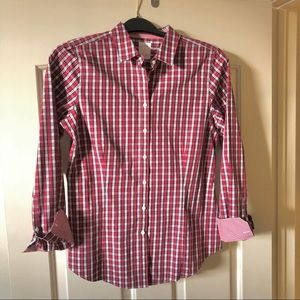 NWOT Brooks Brothers Red Plaid Shirt